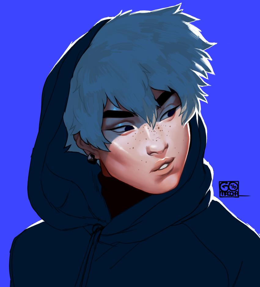 Blue by sharkieboo