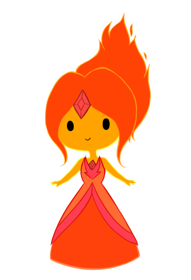 Flame Princess by Clawissa
