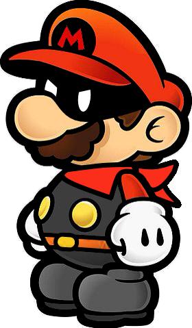 Paper Mario Style - Mister M by Nobunoka on DeviantArt