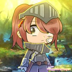 Knight  Sapphire Utsugi