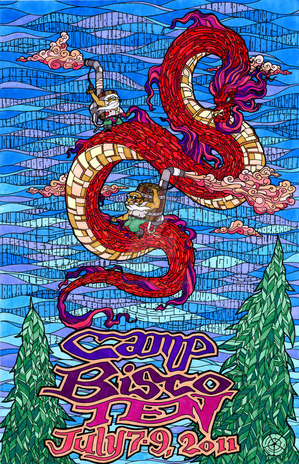 Camp Bisco 2011 by glowing-fool