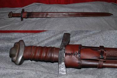 Viking sword scabbard by Nimpsu