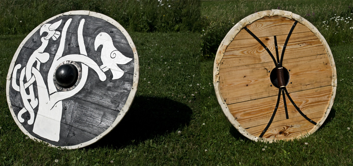 Viking shield by Nimpsu on DeviantArt