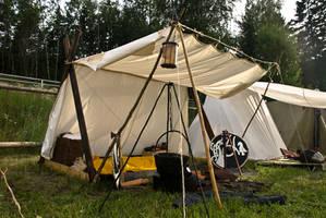 Viking tent by Nimpsu