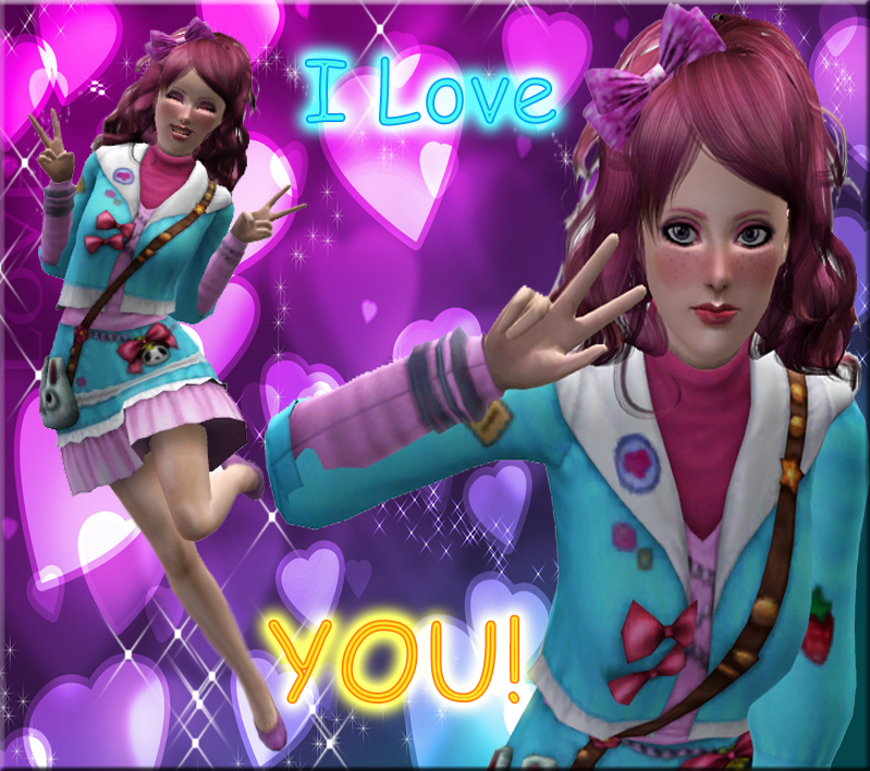 I love you! by Hollena