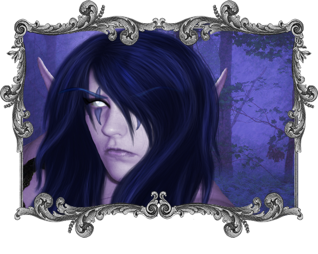 Night Elf Realistic Personal by Hollena