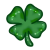 Four Leaf Clover Icon [F2U] by Hollena
