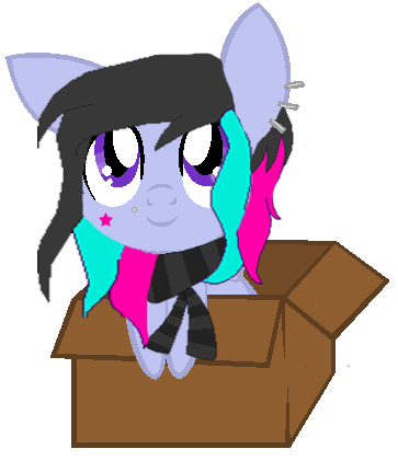 Baby Lillian in a box by Hollena