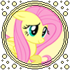 Fluttershy bubble Icon V2 by Hollena