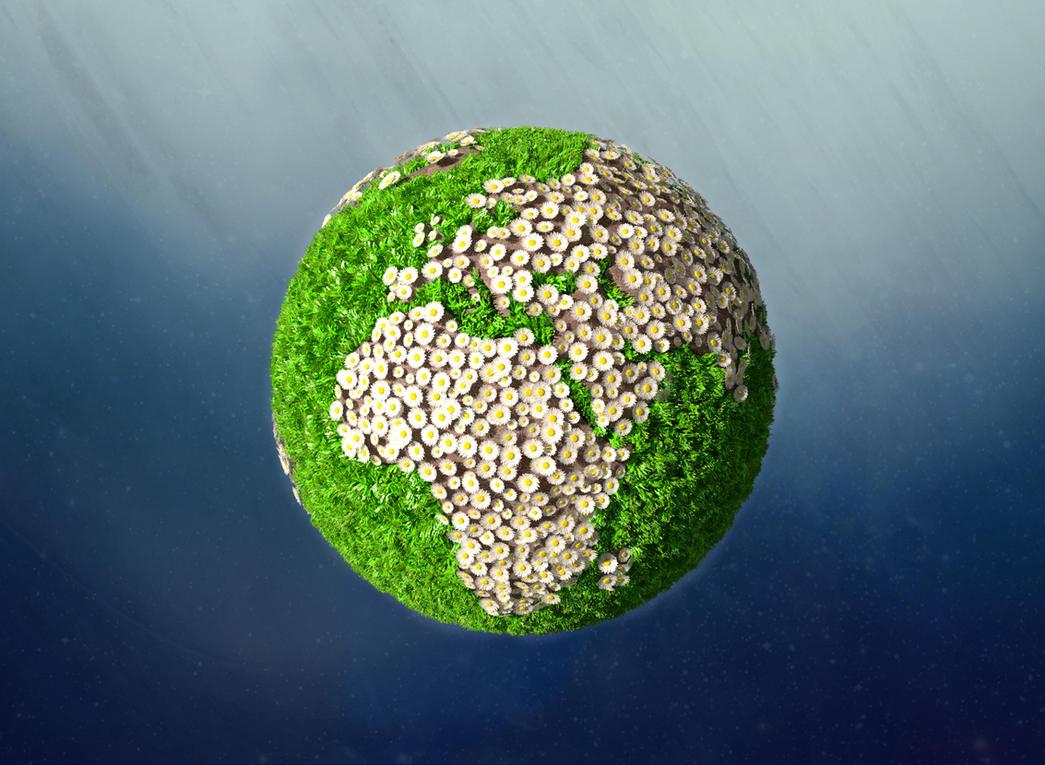Planet Garden by BlenderAddict