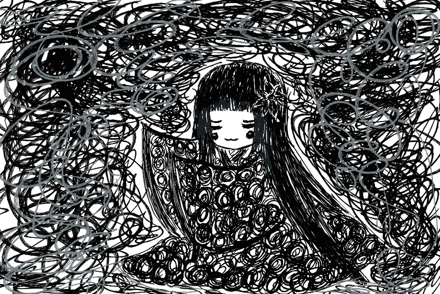 Scribble Drawing In Art Therapy : Scribble art by nichpops on deviantart