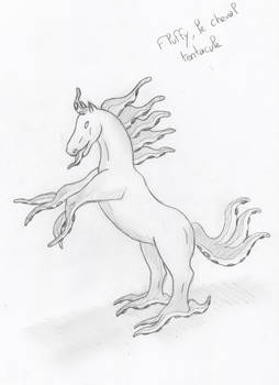 Fluffy, the Tentacled Horse