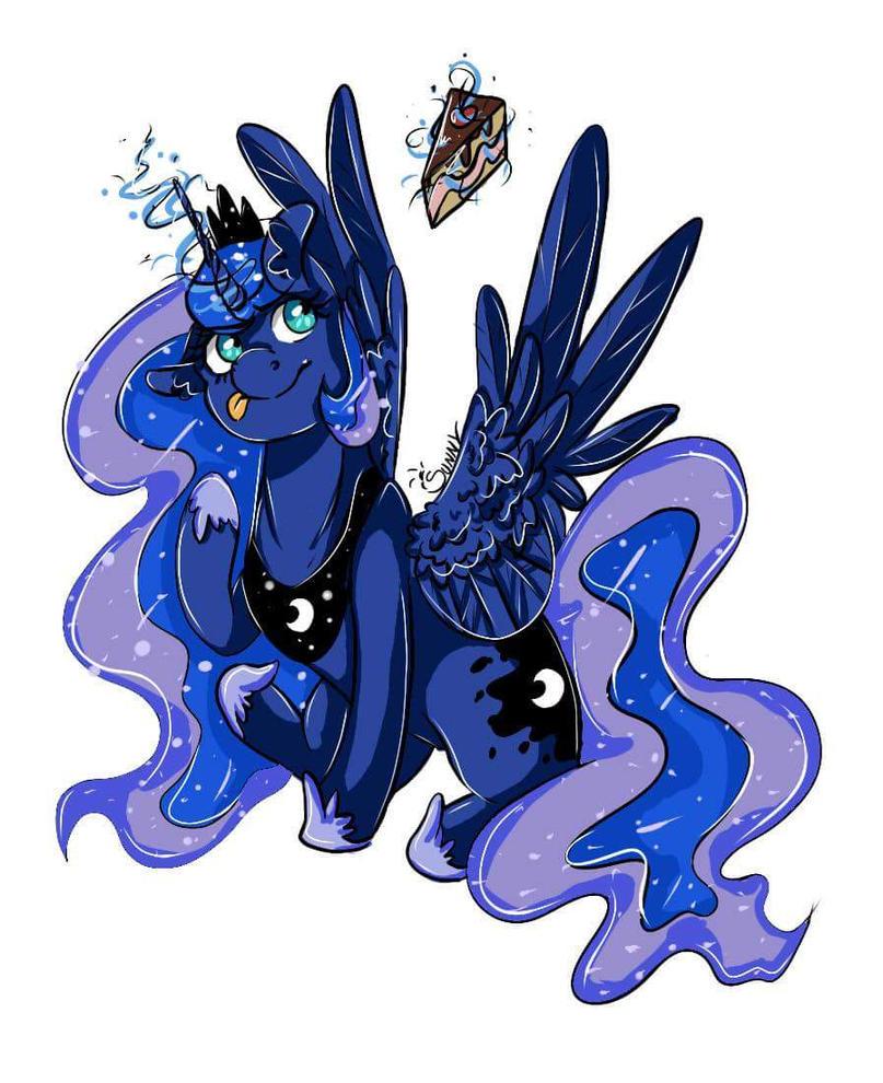 Princess Luna~ by SunnyAlgraf