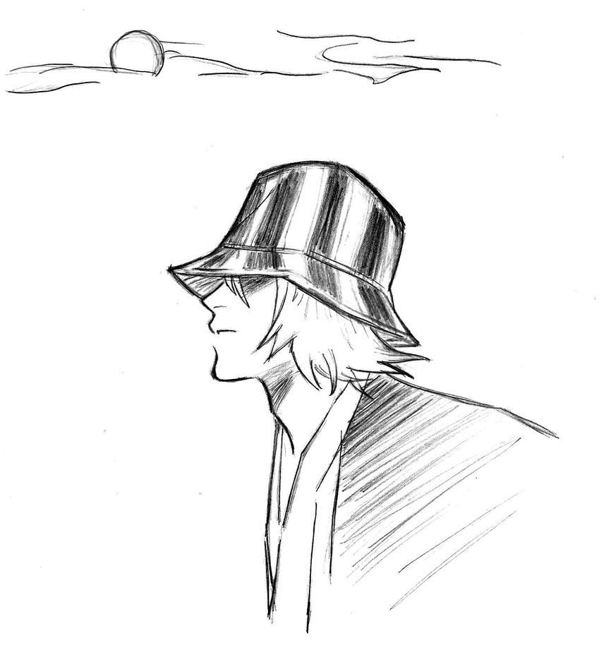 Urahara sketch by Kariinn