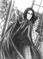 The Gryffindor -bw by Kariinn