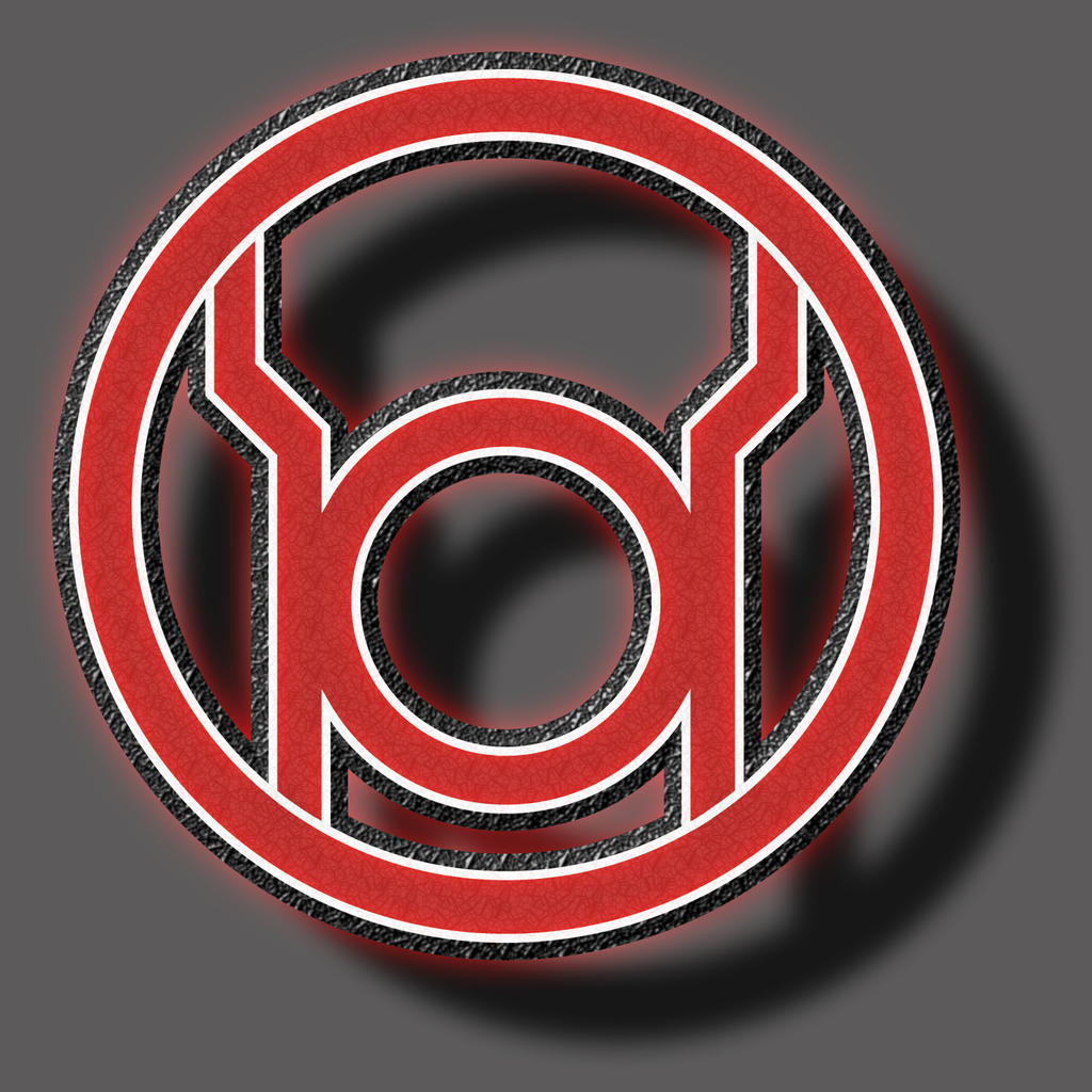 red lantern symbol by bigrobot on deviantart