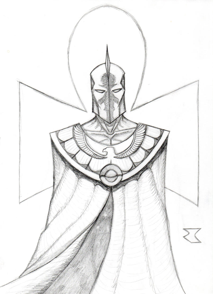 Doctor Fate redesign by BigRobot on DeviantArt