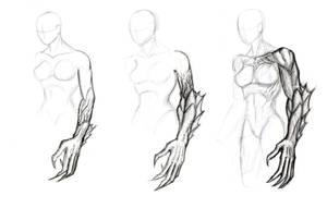 Ardith design sketches by BigRobot