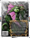 Carmine Back Cover - original by BigRobot