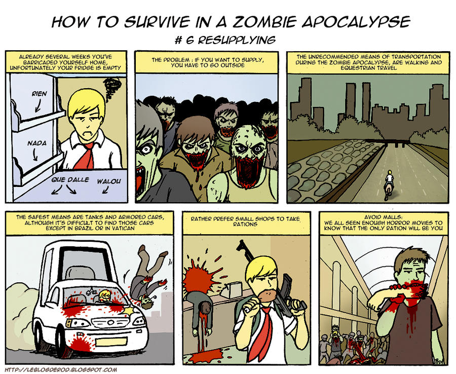 Zombie Apocalypse Tutorial 6 by Rod-Wolf