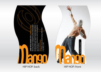 Mango dance flyers - part 1