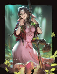 Aerith Gainsborough Final Fantasy 7 Remake