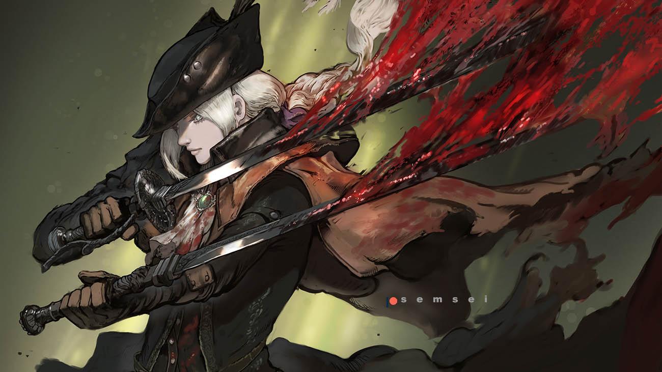 Bloodborne Lady Maria Art