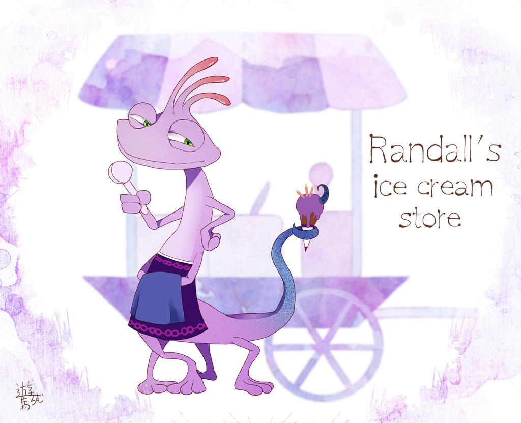 Randall's ice cream store by asumachimu