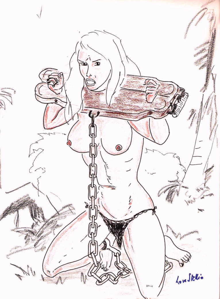 Jungle Girl Chained up by lovestellio