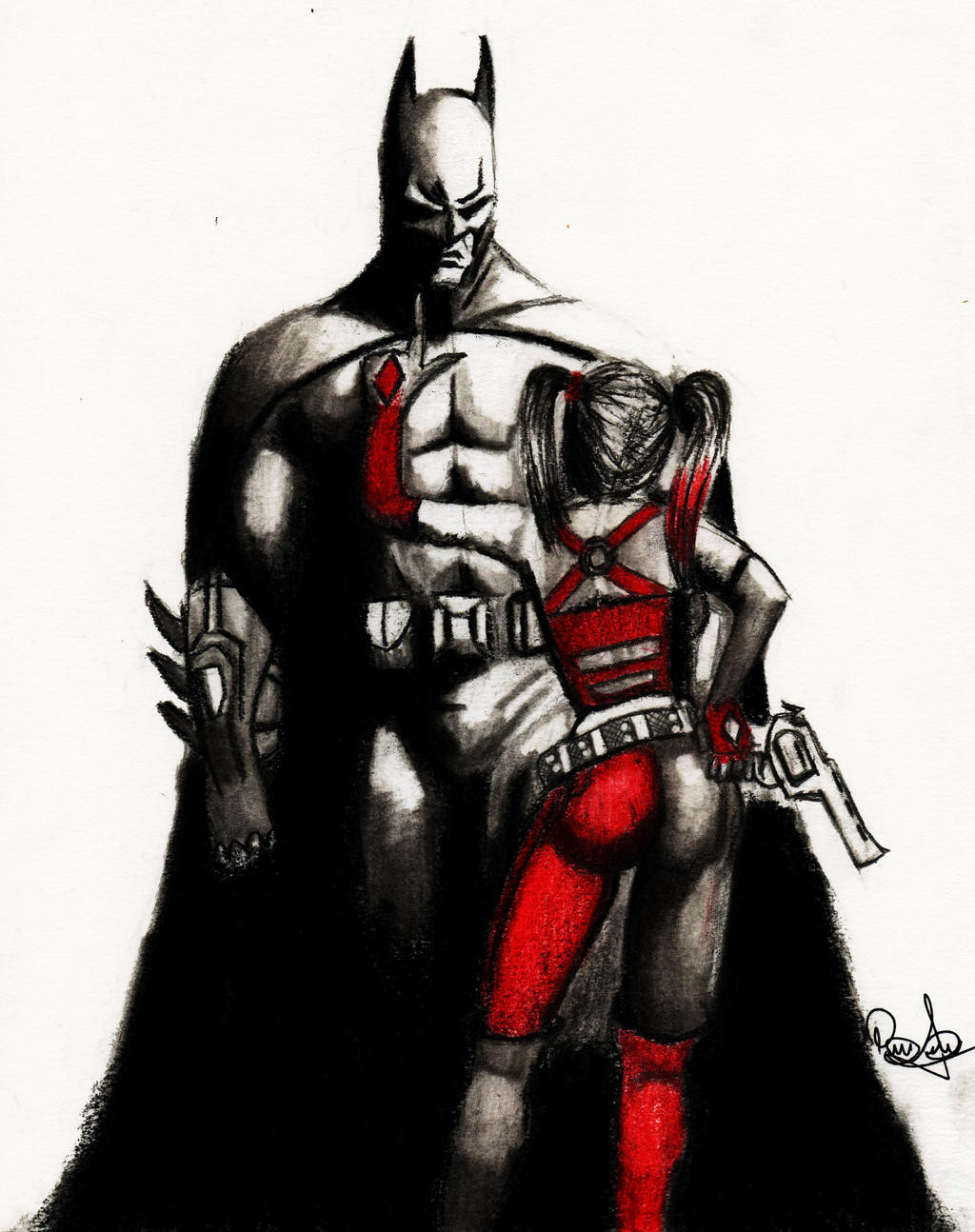 Batman and Harley Quin...
