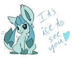 Glaceon and her puns...