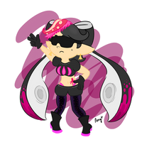 Evil Callie by AmyCakes05