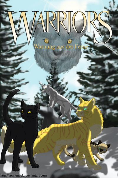 Warrior Cats Book Cover Template ~ Warriors wadf comic cover by sonnenpelz on deviantart