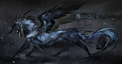 Character auction(closed)  Nuadu by Darenrin