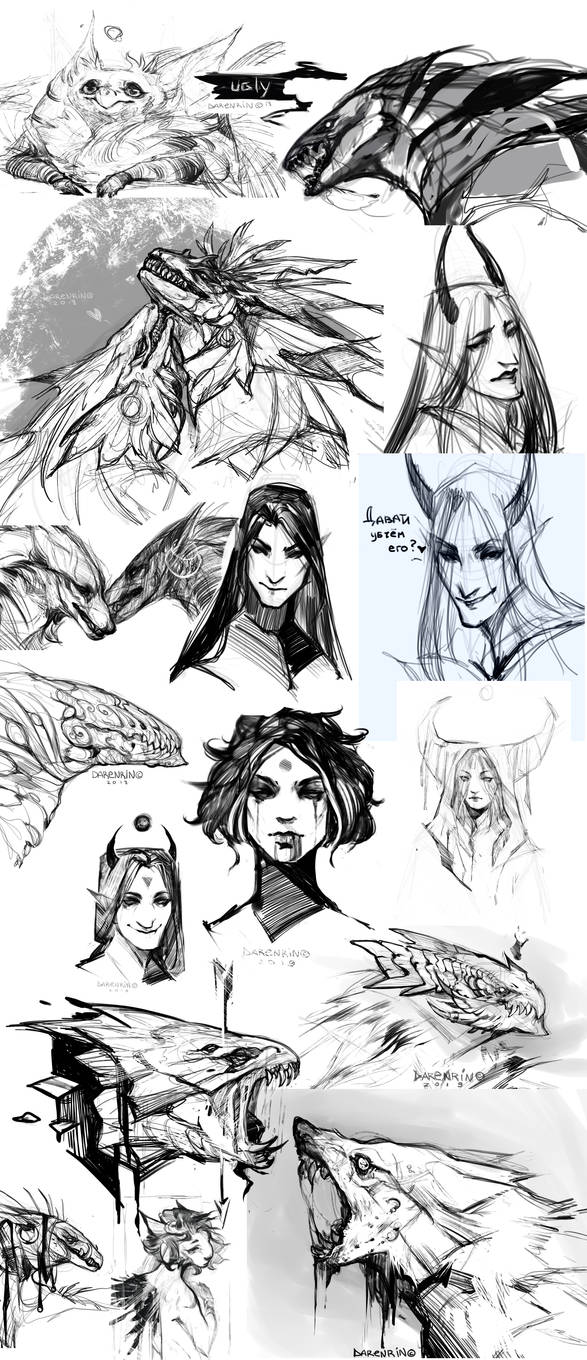 sketch dump by Darenrin