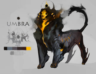 Character auction|Umbra| (closed) by Darenrin