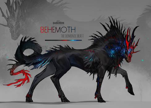 Character auction Behemoth  [closed]