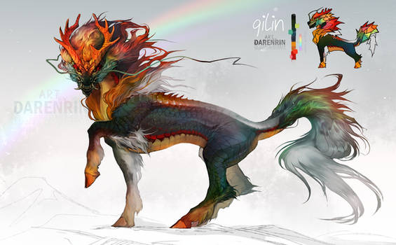 Character auction|Qilin [closed] RESTART