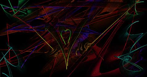 Abstract Rainbow Swigs by Musicwritesmylife