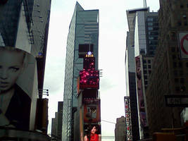 Time Square by Musicwritesmylife