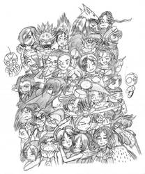 All my characters