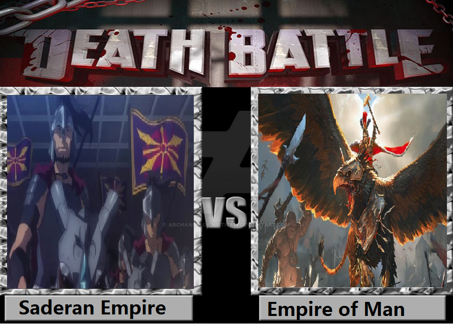 Death Battle Saderan Empire vs Empire of Man by ArchangelOfJustice12