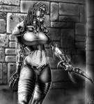 WoW fanart - Undead rogue