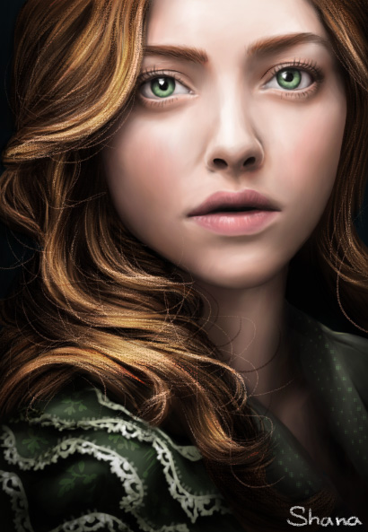 Amanda Seyfried as Cosette in Les Miserables by ShanaGourmet