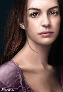 Anne Hathaway as Fantine in Les Miserables