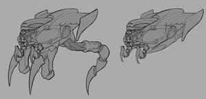 Concept art Alien aircfat