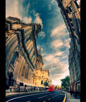 The Towering Spirit of London by JonnyGoodboy