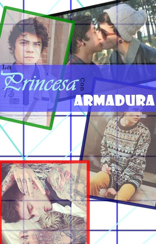 ''La Princesa Con Armadura'' Portada by matum2000