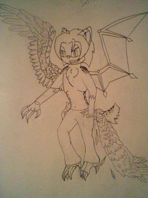 Jericho the mad Scientist by Cyberwolf7777