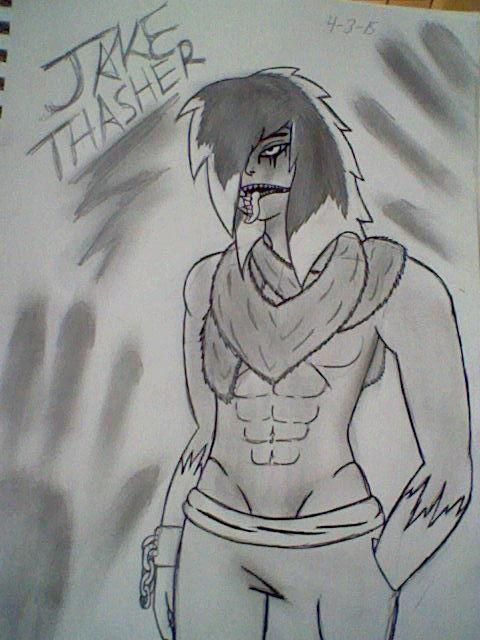 Jake D Thrasher Humanized by Cyberwolf7777